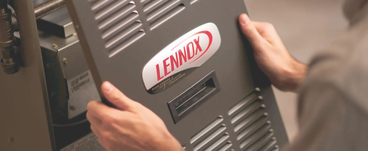 New Lennox Furnace Cover Repair Installation
