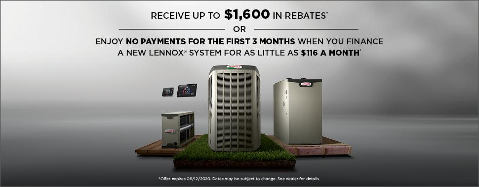 Lennox March 2020 Offer