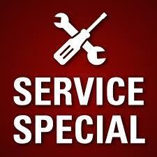 HVAC Service Special logo
